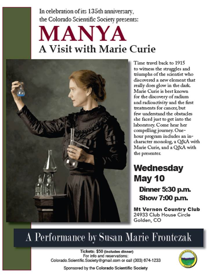 Manya; A Visit with Marie Curie