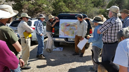 2018 Upper Arkansas Valley, discussing the Poncha Block